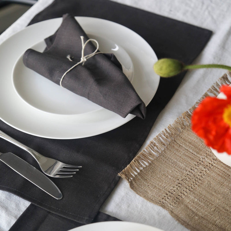 Hemp Linen Table Napkins