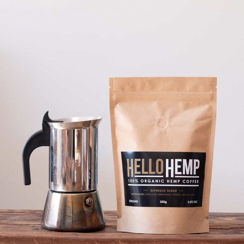 Hemp Coffee: Espresso Blend