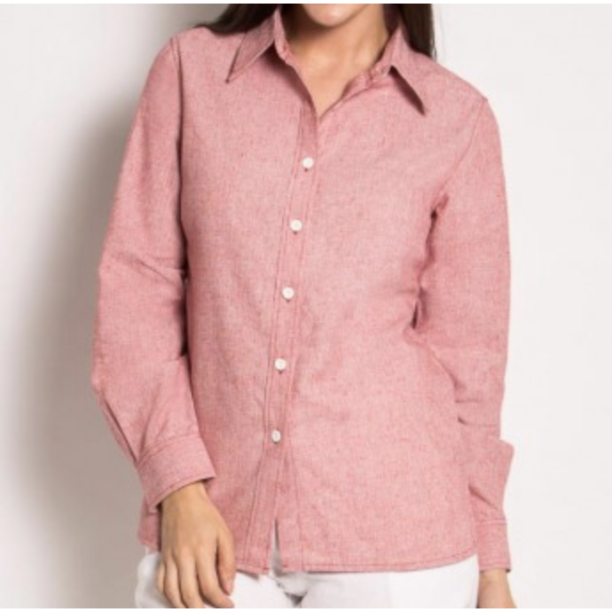 Women's Hemp Long Sleeve Shirt