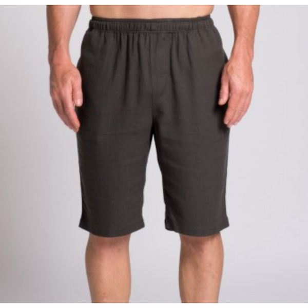 Men's Hemp and Bamboo Elastic Shorts