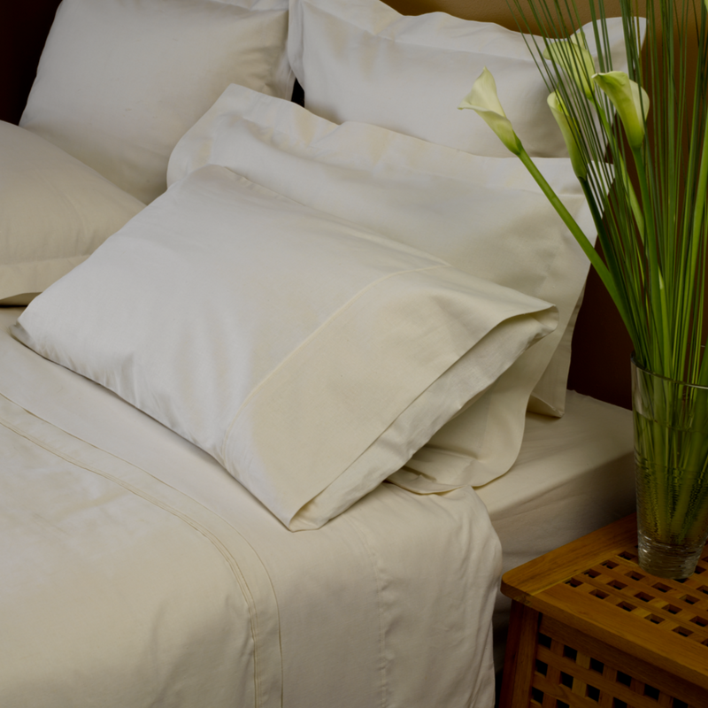 Hemp Organic Cotton Blend Euro Pillowcases