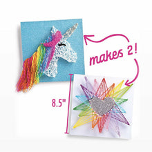 Load image into Gallery viewer, Ann Williams Unicorn String Art