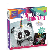 Load image into Gallery viewer, Craft-Tastic Pandacorn String Art