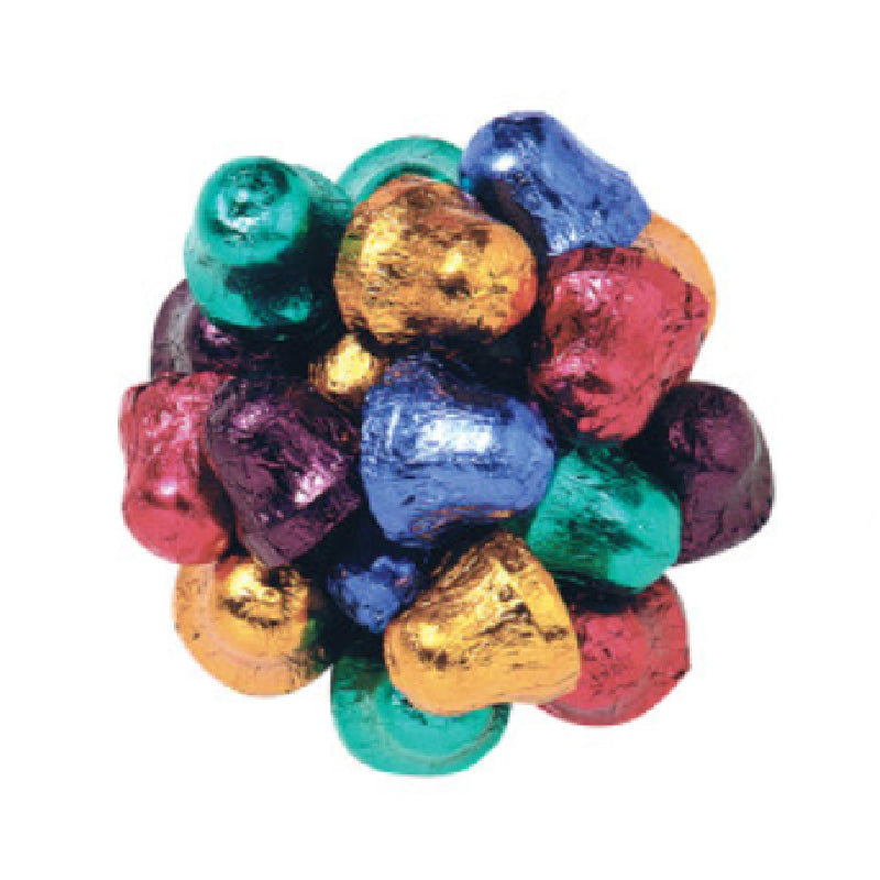Madelaine Dark Chocolate Foiled Bells 1/2LB