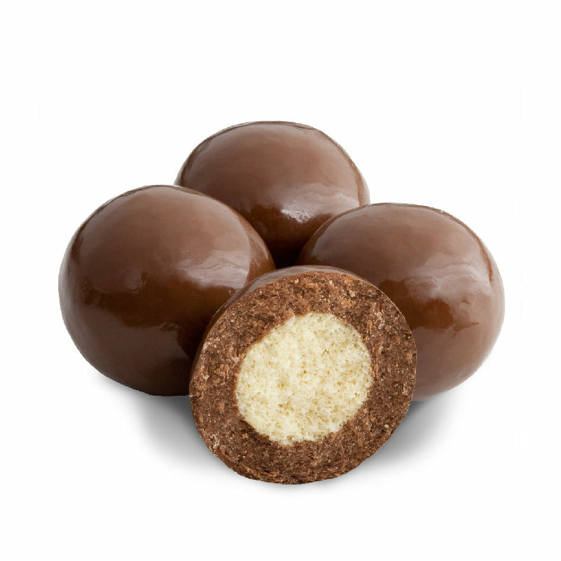 Milk Chocolate Triple Coated Malt Balls 1/2LB