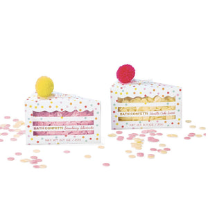 Two's Company Birthday Cake Bath Confetti