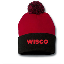 Load image into Gallery viewer, Candy Rox Wisco School Spirit Beanie