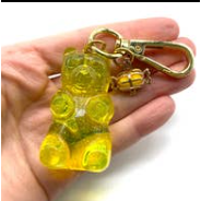 Load image into Gallery viewer, Gummy Bear Key Chain