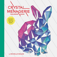 Load image into Gallery viewer, Crystal Menagerie Coloring Book