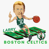 Larry Bird Caricature Collection Gildan Youth Heavy Blend 13.3 oz./lin. yd., 50/50 Hood | G185B