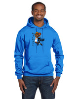 MJ Caricature Collection Champion 12 oz./lin. yd. Double Dry Eco Pullover Hood | S700