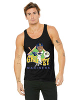 Ken Griffey Jr Caricature Collection Bella + Canvas Unisex Jersey Tank | 3480