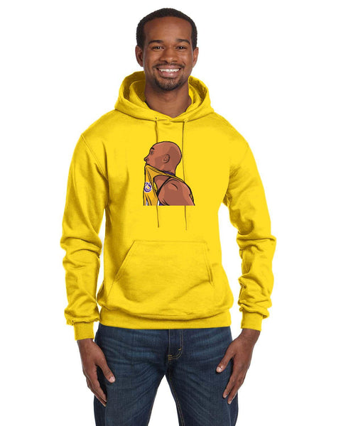 Kobe Caricature Collection Champion 12 oz./lin. yd. Double Dry Eco Pullover Hood | S700