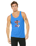 Charles Barkley Caricature Collection Bella + Canvas Unisex Jersey Tank | 3480