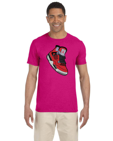 Jordan 4 Toro Bravo Kicks Collection Gildan Adult Softstyle 7.5 oz./lin. yd. T-Shirt | G640
