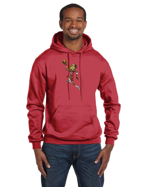 Jordan Caricature Collection Champion 12 oz./lin. yd. Double Dry Eco Pullover Hood | S700