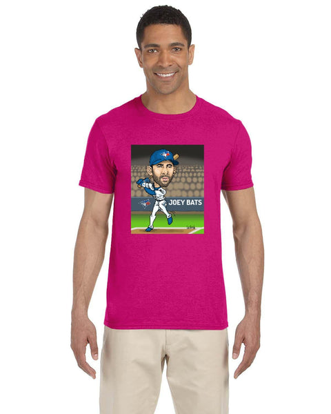 Jose Bautista Caricature Collection Gildan Adult Softstyle 7.5 oz./lin. yd. T-Shirt | G640