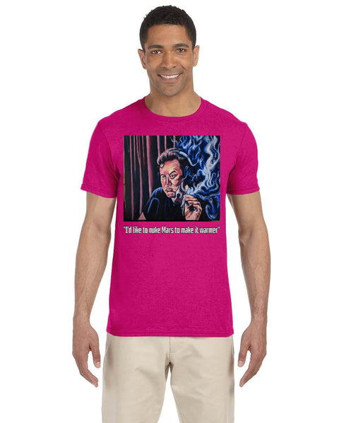 Elon Caricature Collection Gildan Adult Softstyle 7.5 oz./lin. yd. T-Shirt | G640