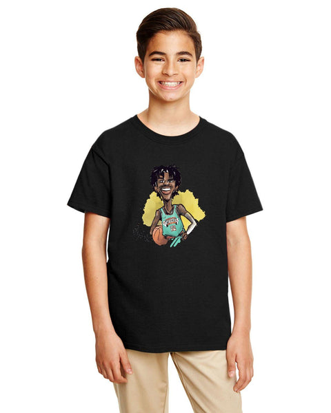 Ja Morant Caricature Collection  Gildan Youth Softstyle 7.5 oz./lin. yd. T-Shirt | G645B