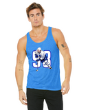 Doug Gilmour Caricature Ciollection Bella + Canvas Unisex Jersey Tank | 3480