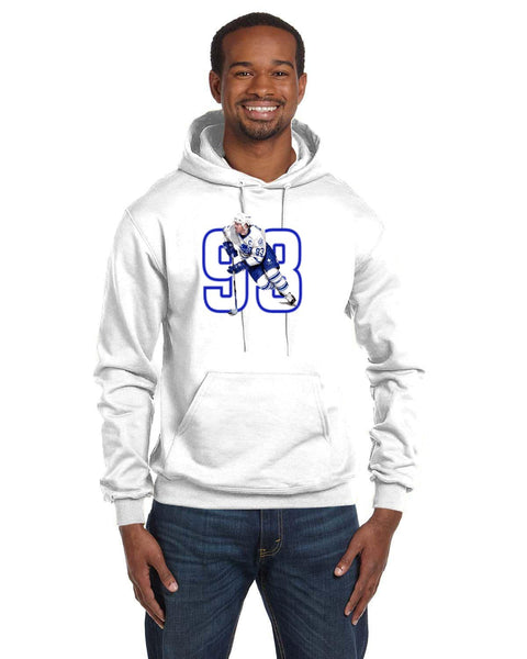 Doug Gilmour Caricature Collection Champion 12 oz./lin. yd. Double Dry Eco Pullover Hood | S700