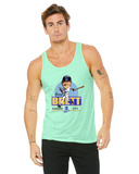 George Brett Caricature Collection Bella + Canvas Unisex Jersey Tank | 3480