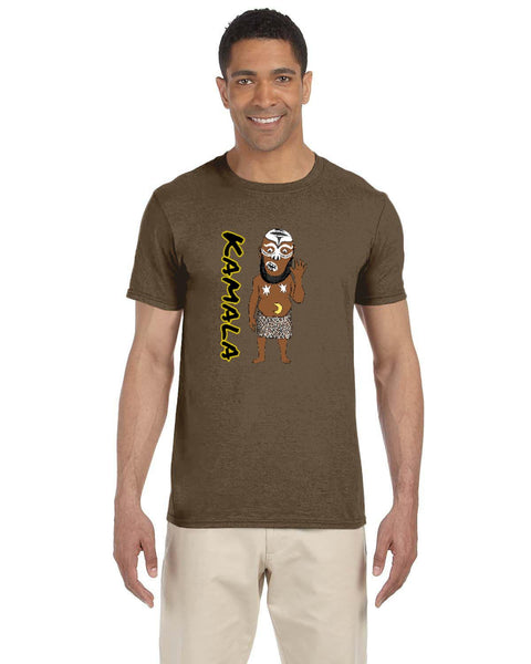 Kamala The Ugandan Giant Caricature Collection Gildan Adult Softstyle 7.5 oz./lin. yd. T-Shirt | G640