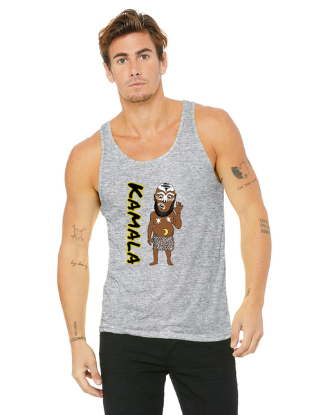 Kamala The Ugandan Giant Caricature Collection Bella + Canvas Unisex Jersey Tank | 3480
