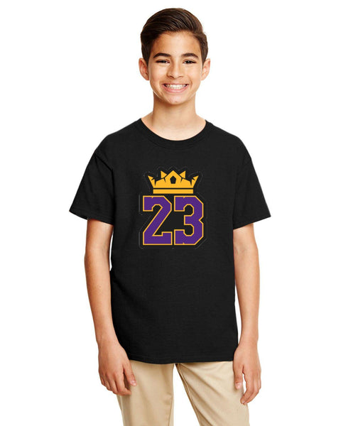 King Lebron Caricature Collection Gildan Youth Softstyle 7.5 oz./lin. yd. T-Shirt | G645B