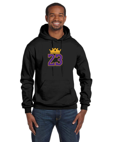 King Lebron Caricature Collection Champion 12 oz./lin. yd. Double Dry Eco Pullover Hood | S700