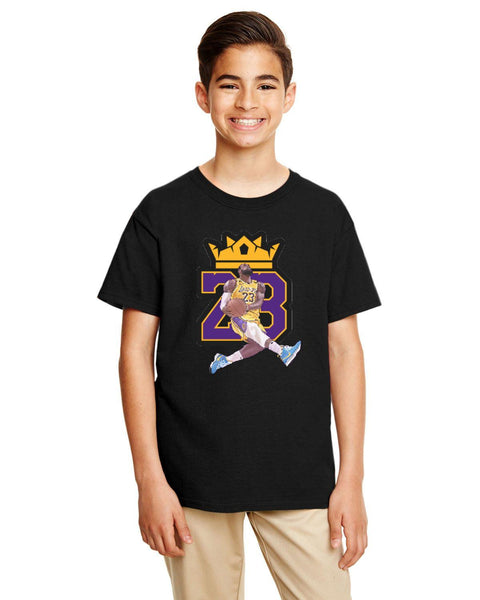 King Lebron 23 Caricature Collection Gildan Youth Softstyle 7.5 oz./lin. yd. T-Shirt | G645B