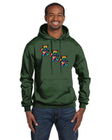 Dancing Bears Champion 12 oz./lin. yd. Double Dry Eco Pullover Hood | S700