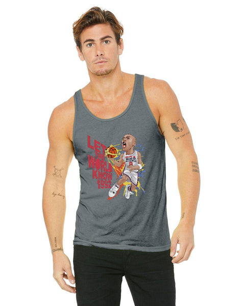 MJ 92 Olympics Caricature Collection Bella + Canvas Unisex Jersey Tank | 3480