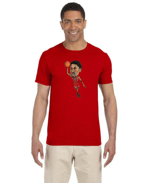 Scottie Pippen Caricaute Collection Gildan Adult Softstyle 7.5 oz./lin. yd. T-Shirt | G640