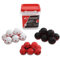 Rukket 24pk Baseball Flight Control balls w/ bucket