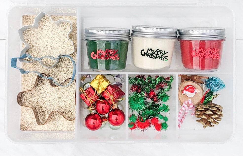 Tis the Season Deluxe Christmas Sensory Play Kit