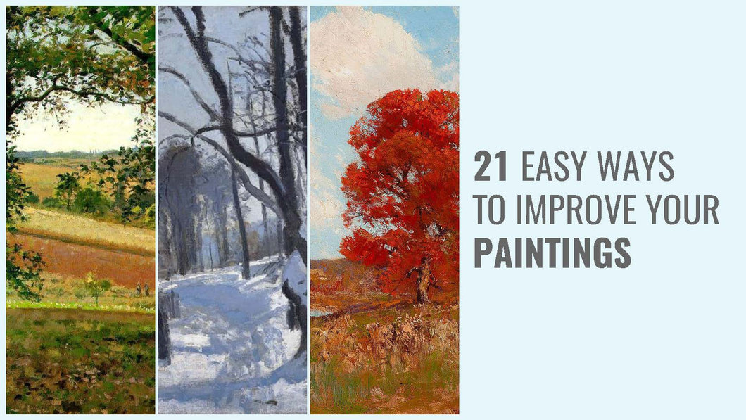 21 Easy Ways to Improve Your Paintings Ebook