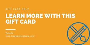 Draw Paint Academy Store Gift Card