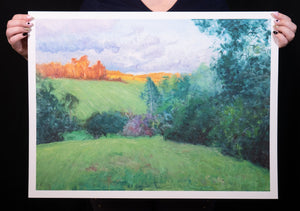 Maleny, Late Afternoon - Print (26x20 Inches)