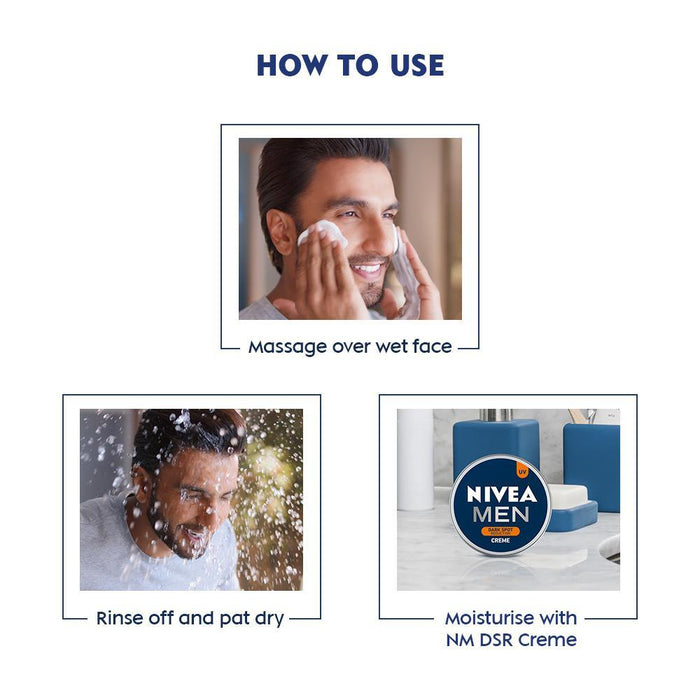 Men's Face Wash - Oil Control