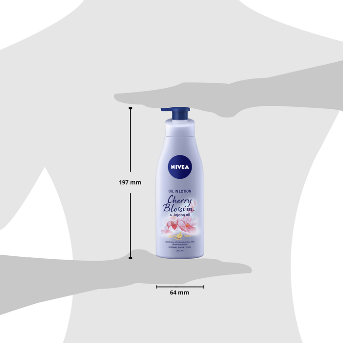 Buy Body Lotion - Oil in Lotion Cherry Blossom & Jojoba Oil | NIVEA Shop