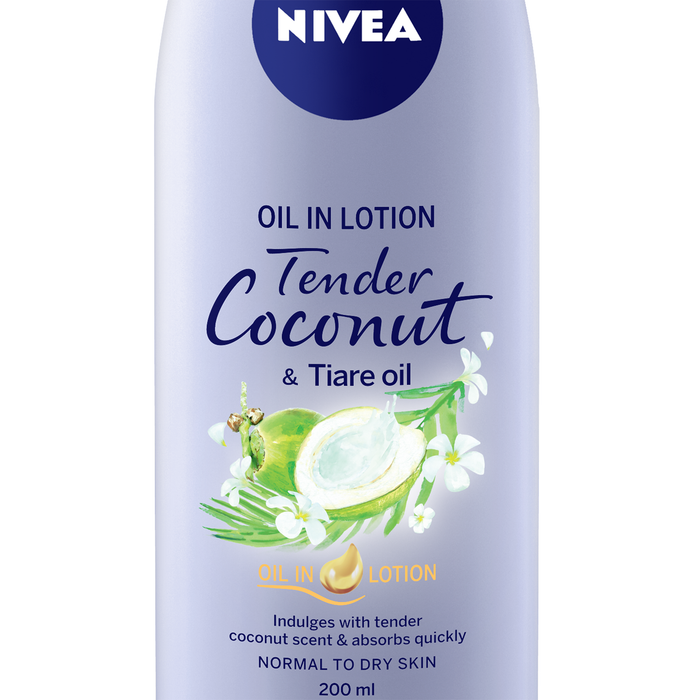 Body Lotion - Oil in Lotion Tender Coconut & Tiare Oil