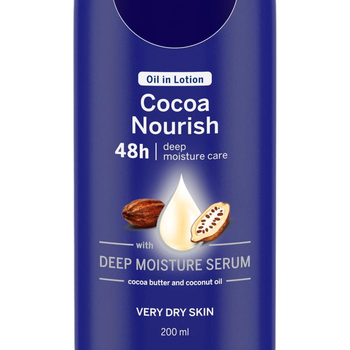 Body Lotion- Oil in Lotion Cocoa Nourish (Very Dry Skin)