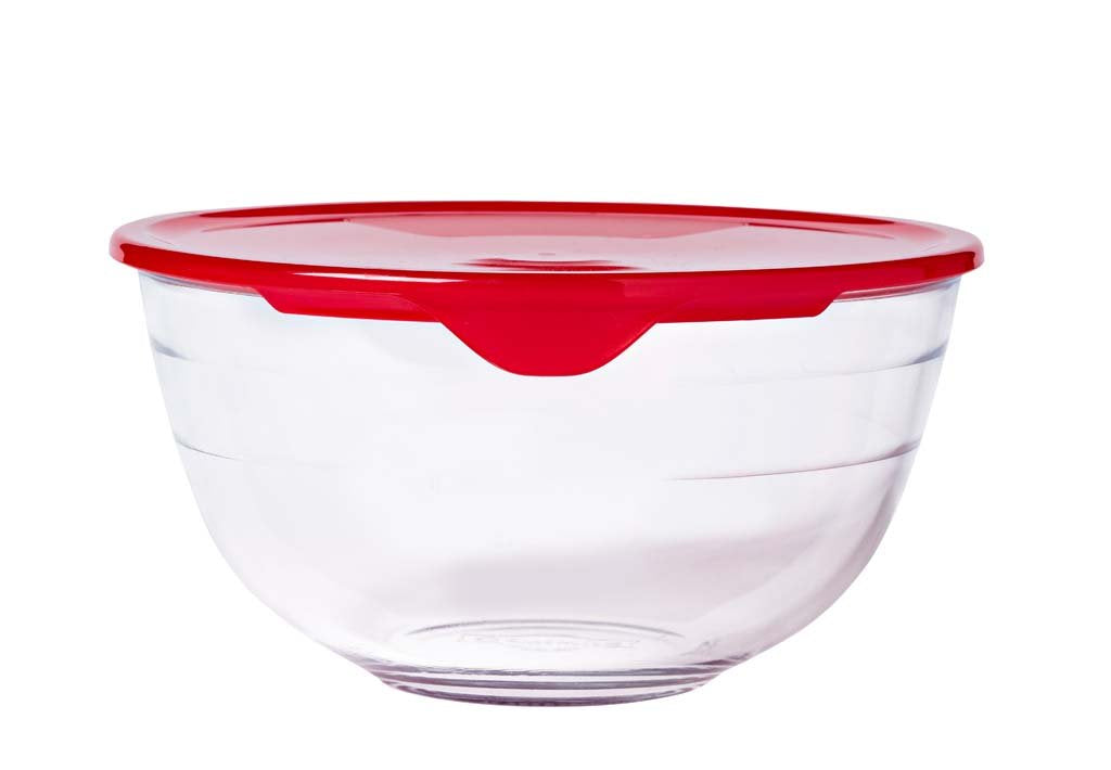 Glass Mixing bowl with lid