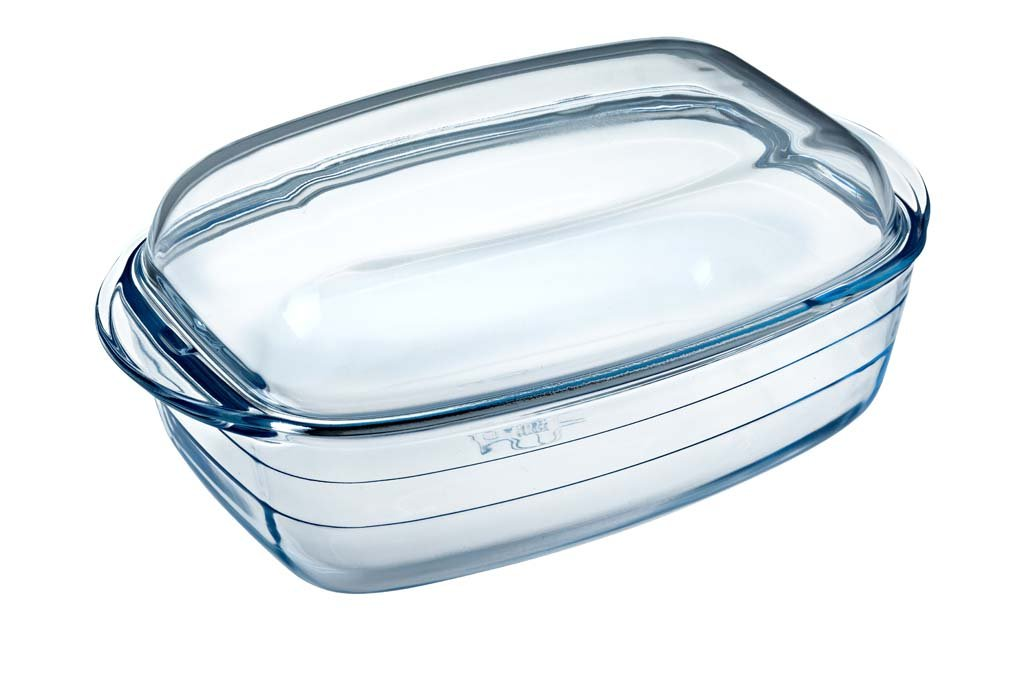Glass Rectangular casserole