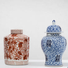 Load image into Gallery viewer, Glamour Blue Chinese Vase