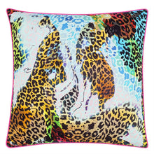 Load image into Gallery viewer, Christain Lacroix Les Felines Magenta cushion