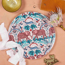 Load image into Gallery viewer, Round Zambezi Tray - Pink (Large)