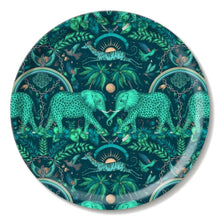 Load image into Gallery viewer, Round Zambezi Tray - Teal