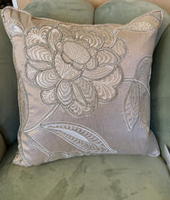 Load image into Gallery viewer, Silk art deco Aldeco Cushion